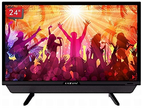 Kevin 61 cm (24 inches) HD Ready LED TV KN24832 (Black) (2018 Model)