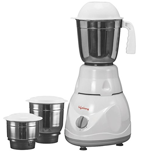 Bajaj Rex 500-Watt Mixer Grinder with 3 Jars (White) Buy Mixer Grinder Online