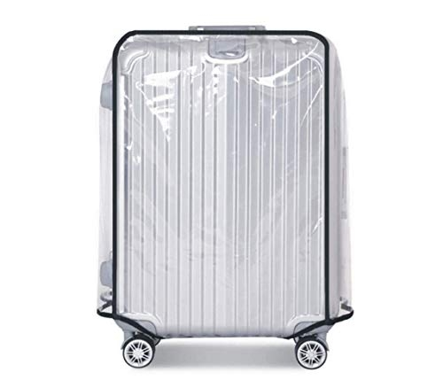 Aeoss Travel On Road Luggage Cover Trolley Protective Case Suitcase Dust Cover Luggage Covers Travel Accessories (Color : Black, Size : 18-20 inches)