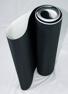 MCKOY Slimming Treadmill Belt (Black, 116×20-inch)
