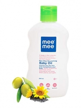 Mee Mee Baby Oil (with Fruit Extracts- 500 ml (Single Pack))