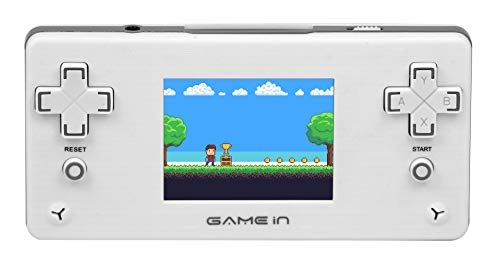 Mitashi Game In Smarty Chotu Handheld Gaming Console (White)