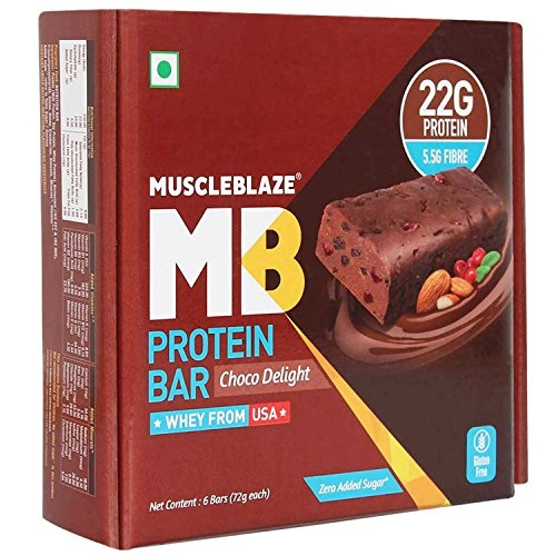 Muscleblaze Hi-Protein Bar 30G Protein – Chocolate Delight (Pack Of 6)