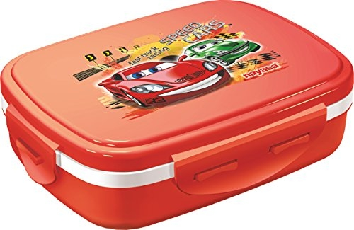NAYASA Tiffin Set-NUTRI Kids RED