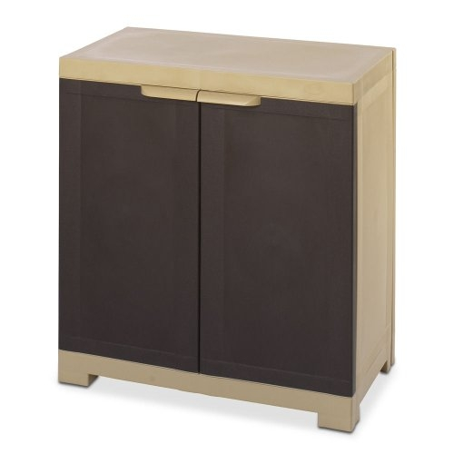 Shoe Rack Wood | Nilkamal Freedom Mini Cabinet (Brown)