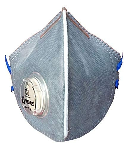 Party-Hut V-410-V Reusable Anti Air Pollution Face Mask 2 Bag Filters (Pack of 2)