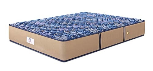 Peps Springkoil Bonnell Pillow Top 6-inch King Size Spring Mattress (Dark Blue, 78x72x06) With Two Free Pillow