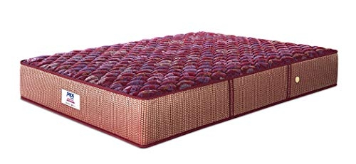 Peps Springkoil Bonnell 6-inch Single Size Spring Mattress (Maroon, 72x42x06)