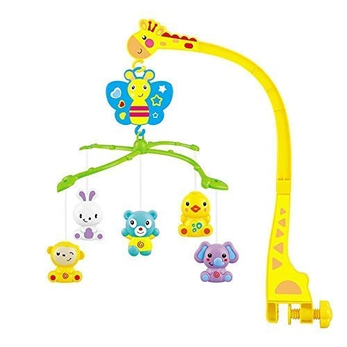 Playhood Musical Crib Toy with Rattles (Battery Not Included)