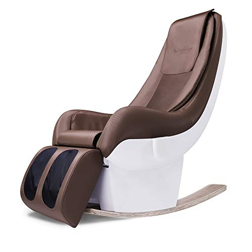 Powermax Fitness Indulge iS-7R Luxurious Rocking Massage Chair with Bluetooth App, Remote Control and Zero Space Technology