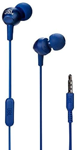 JBL C200SI in-Ear Headphones with Mic (Mystic Blue)