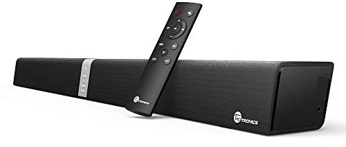 (Renewed) TaoTronics Sound Bar TT-SK15 Wired and Wireless Bluetooth Audio Speaker (Black)