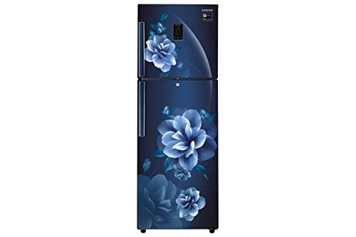 Samsung 324 L 3 Star Frost-Free Double-Door Refrigerator (RT34R5438CU/HL, Camellia Blue)