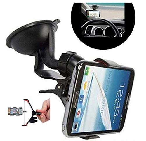 car holders for mobile phone a/c – Semaphore Windshield Mount Stand Car Home Desk Cradle A/C Holder Suction for Mobile Phone Single for Hyundai i20 Active