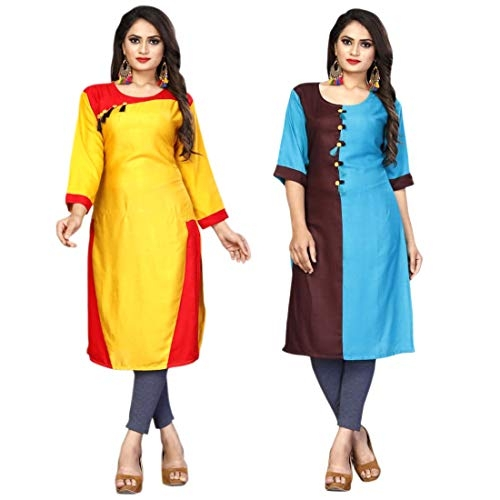 Alvia Fashion Floor Touch Kurties for Party. Alvia 3025-XL