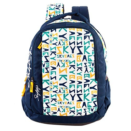 Skybags 11.1 Ltrs Blue School Backpack (SBORI5HBLU)