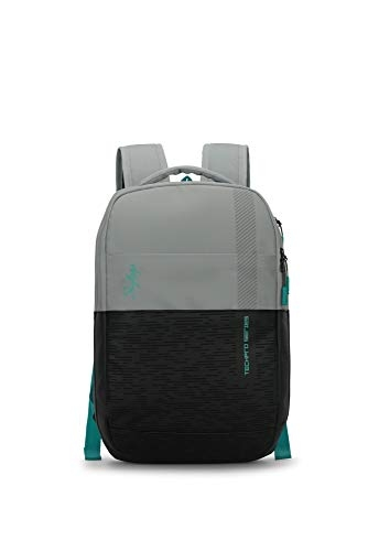 Skybags Aztek 01 20 Ltrs Black Laptop Backpack (Aztek 01)