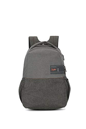 Skybags Beatle Pro 27 LTR Grey Laptop Backpack (17 inch Laptop Compatible)