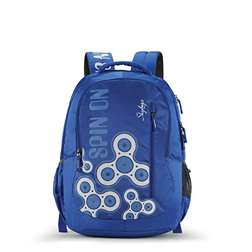 Skybags Bingo 31.878 Ltrs Blue School Backpack (SBBIN03BLU)