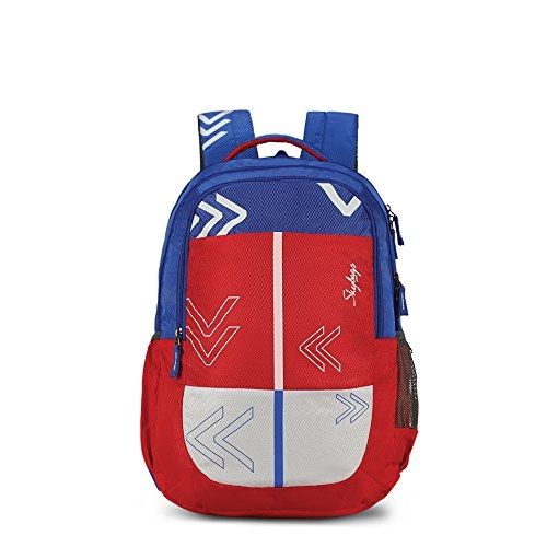 Skybags Bingo Extra 35.5005 Ltrs Red School Backpack (SBBIE02RED)
