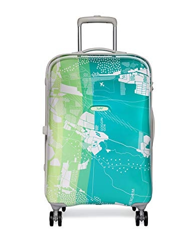 Skybags Escape Polycarbonate 80 cms Green Hard Sided Suitcase (ESCAP79ESP)