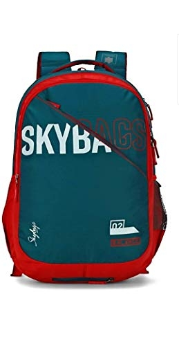 Skybags Figo Extra 03 36 Ltrs Teal Casual Backpack (FIGO Extra 03)