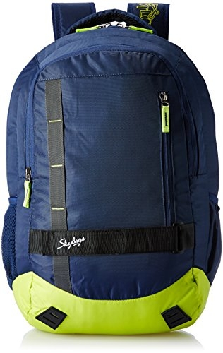 Skybags Geek 48 Ltrs Green Laptop Backpack (GEEK05GRN)