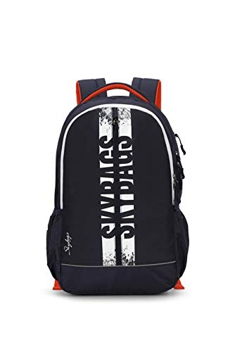 Skybags Herios Plus 01 33 Ltrs Black Laptop Backpack (HERIOS Plus 01)