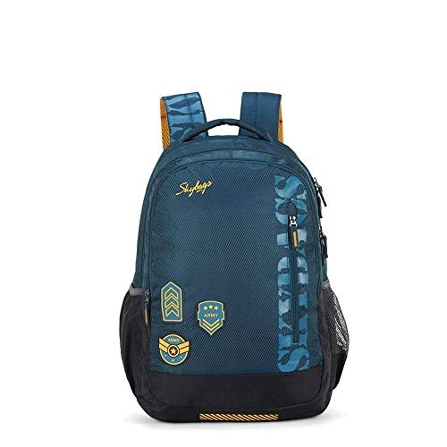 Skybags Figo Extra 01 36 Ltrs Black Casual Backpack (FIGO Extra 01)