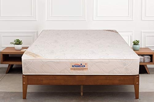 Peps Springkoil Bonnell 6-inch Queen Size Spring Mattress (Dark Blue, 75x60x06) With Two Free Pillow