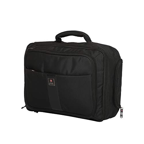 Swiss Military 23 Ltrs Black Laptop Backpack (LTB5)