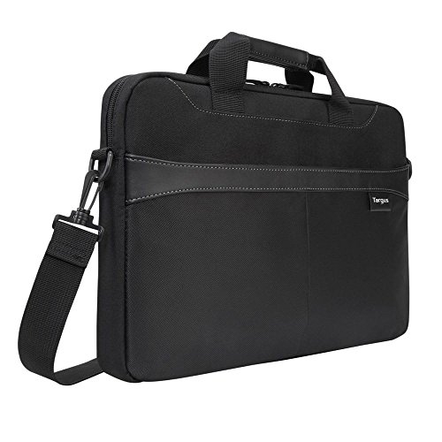 Targus Business Casual Slipcase with Shoulder Strap for 15.6-Inch Laptops, Black (TSS898)