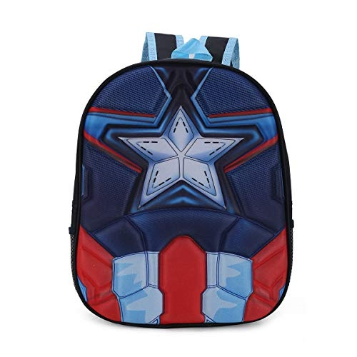 Tinytot School Bag for Kids Soft Plush Backpack for Small Kids Nursery Bag (Age 3-5 Years) for Boys (10 L)