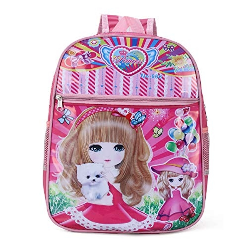 Tinytot School Bag for Kids Soft Plush Backpack for Small Kids Nursery Bag (Age 3-5 Years) for Girls (10 L)