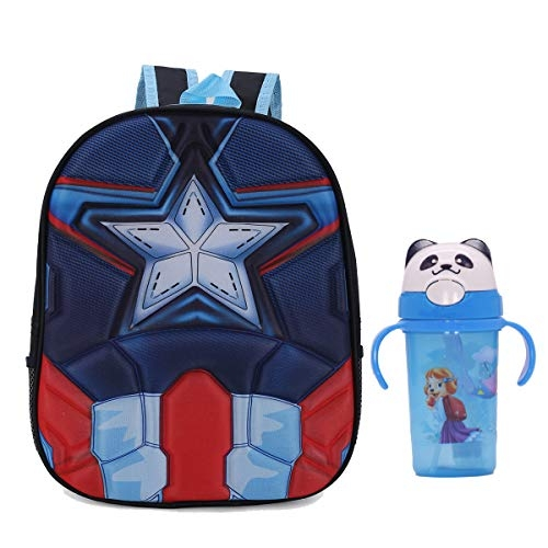 Tinytot School Bag School Backapck for Small Kids Nursery Bag (Age 3-5 Years) for Boys (10 L) with Water Bottle