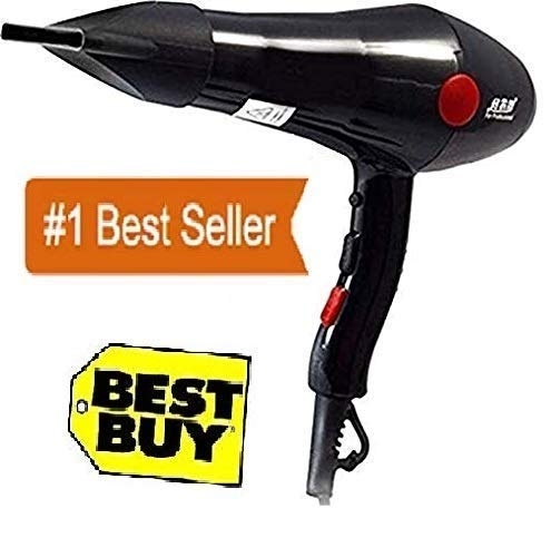 CHAOBA 2000 Watts Professional Hair Dryer 2800 (Black)