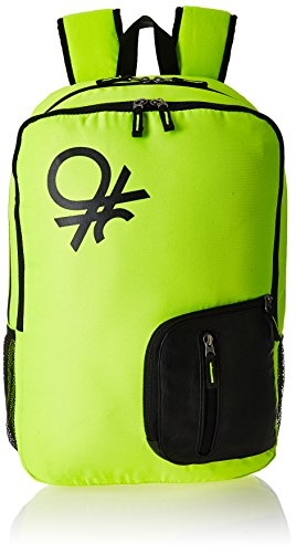 United Colors of Benetton 21 Ltrs Green Casual Backpack (16A6BAGT7007I)