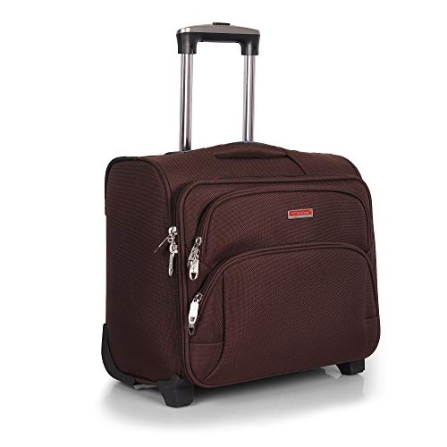 Vision Laptop Trolly Cabin Luggage – 20 inch (Black)