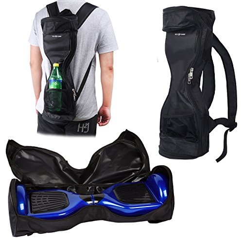 Waterproof Backpack to Carry and Store your Drifting Board (Two Wheels Smart Balance Board Scooter Electric Self Smart Drifting Board) – Mesh Pocket – Adjustable Shoulder Straps – Carry Handle