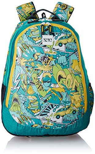 Wildcraft Polyester 32 Ltrs Yellow School Backpack (Wiki 6 Streets 4)
