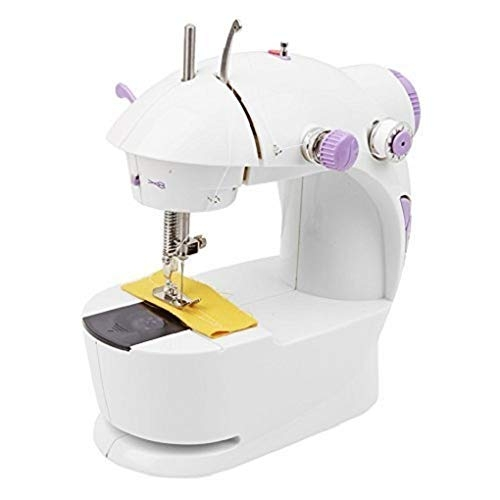 Liolis Mini Multi Functional 4 in 1 Desktop Electric Household Portable Sewing Machine for Home Mini